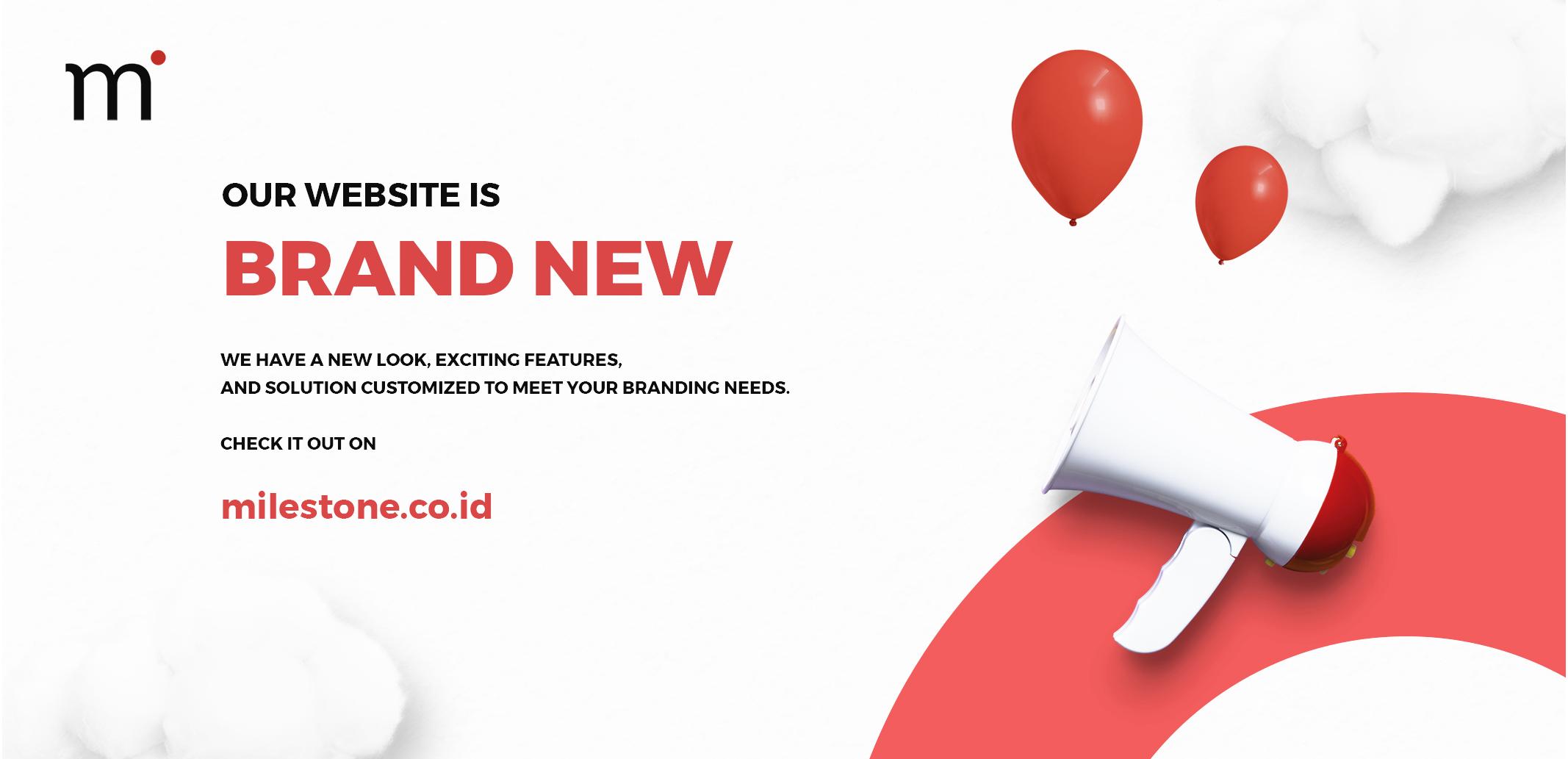 Milestone New Website Launch